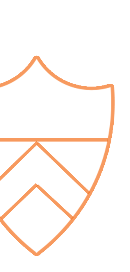"6""x 15"" Shield Pennant | The Princeton University Store |Princeton Shield"